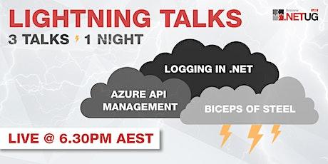 June User Group: 3 Lightning Talks, 1 Big Tech night! (Sydney) tickets