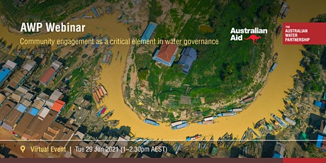 Community engagement as a critical element in water governance tickets
