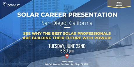 San Diego Solar Career Presentation tickets