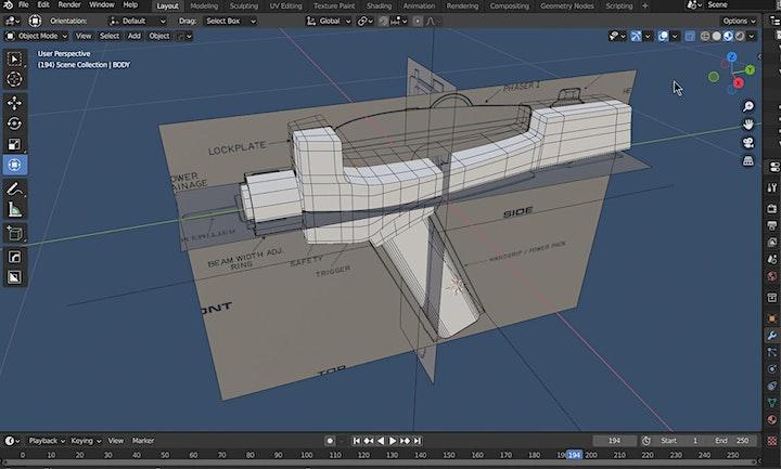 Copy of Intro To 3D Modeling in Blender 3D I image