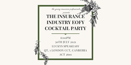 ACT Insurance Industry EOFY Cocktail Party 2021 tickets