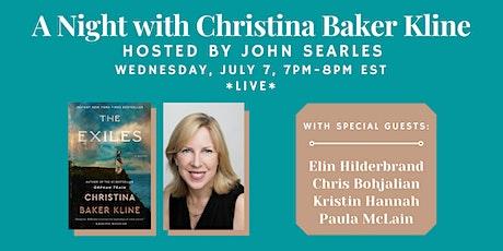 "Christina Baker Kline presents ""The Exiles"" w/ John Searles tickets"