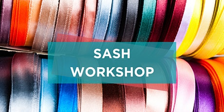 'What Can You be Proud of' Sash Workshop tickets