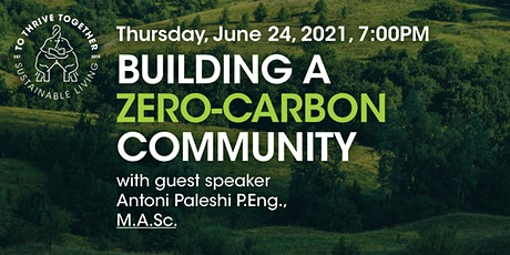 Building a Zero-Carbon Community - Find out more! tickets