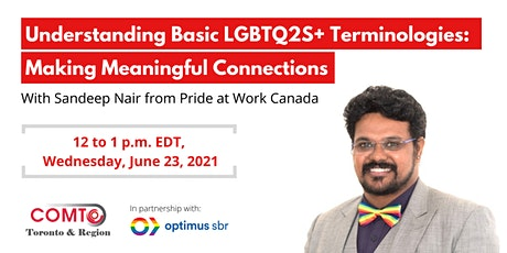 Understanding Basic LGBTQ2S+ Terminologies: Making Meaningful Connections tickets