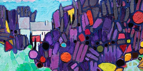 Abstract Landscape, Virtual Painting Class tickets