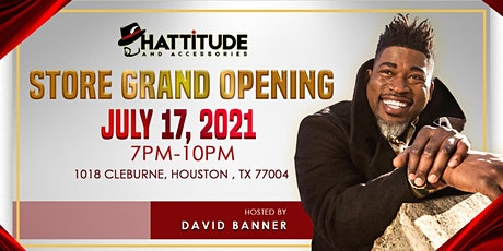 Store Grand Opening Hosted By David Banner tickets