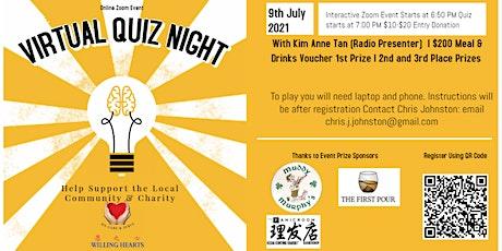 Virtual Quiz Night - Willing Hearts Singapore Fundraiser tickets