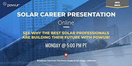 Online Solar Career Presentation tickets