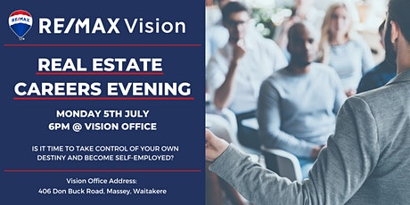 RE/MAX Vision Careers Night tickets