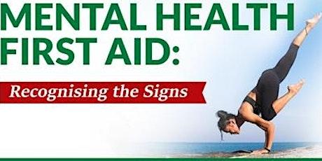 MENTAL HEALTH FIRST AID TRAINING - GOLDER Associates Pty Ltd tickets