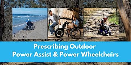 Prescribing Outdoor Power Assist and Power Wheelchairs Workshop tickets