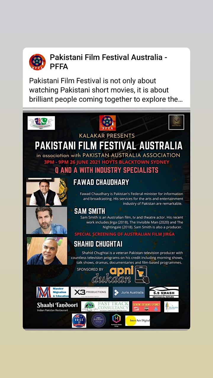 Pakistani Film Festival Australia image