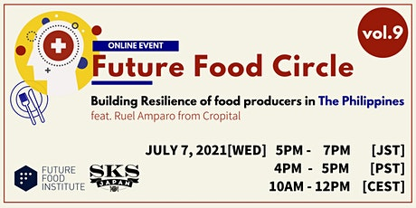 FF Circle vol 9: Building Resilience of food producers in The Philippines tickets