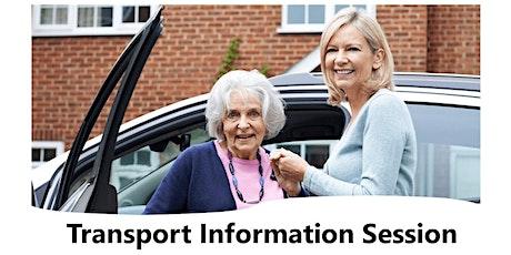 Transport Information Session tickets