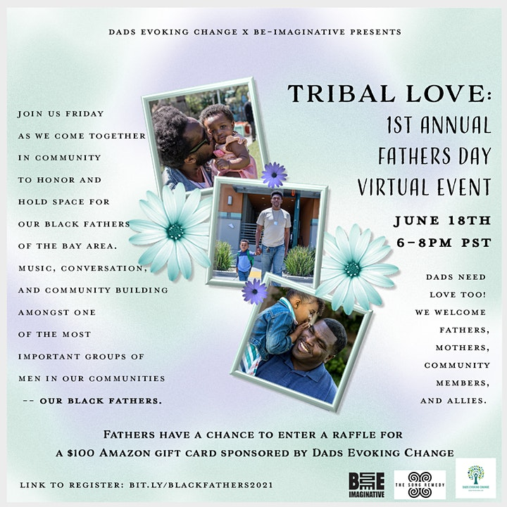 Tribal Love: 1st Annual Father's Day Virtual Event image