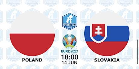 Poland vs Slovakia   UEFA EURO 2020 in Madrid entradas