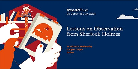 Lessons on Observation from Sherlock Holmes | Read! Fest tickets