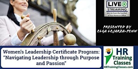 2-Day Women's Leadership Certificate Program tickets