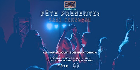 Fête Presents: BAR1 TAKEOVER tickets