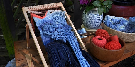 Indigo Dyeing and Texture Weaving two-part Workshop series tickets