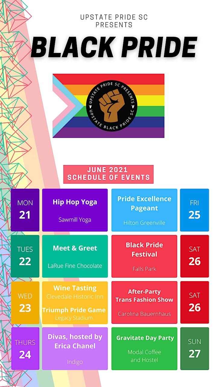 Upstate Pride SC  Presents 2021 Black Pride Festival image