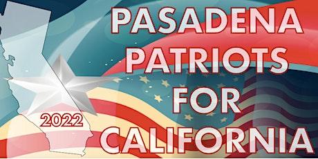 Pasadena Patriots for California tickets