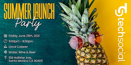 TechSocial's Summer Launch Party tickets