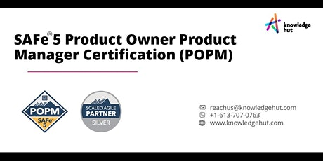 SAFe® 5 Product Owner Product Manager Certification (POPM) in Toronto tickets
