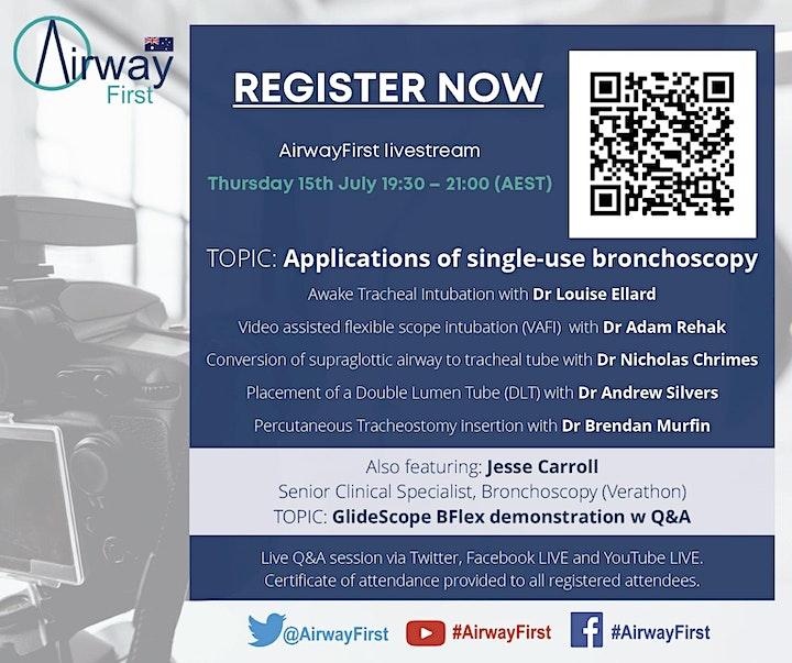 AirwayFirst Australia Livestream image
