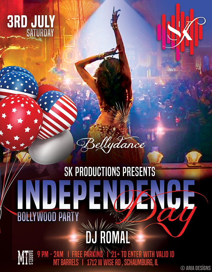 <br /> Independence Day Bollywood Party image<br />