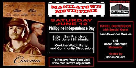 "Manilatown MovieTime presents ""Concerto"" tickets"