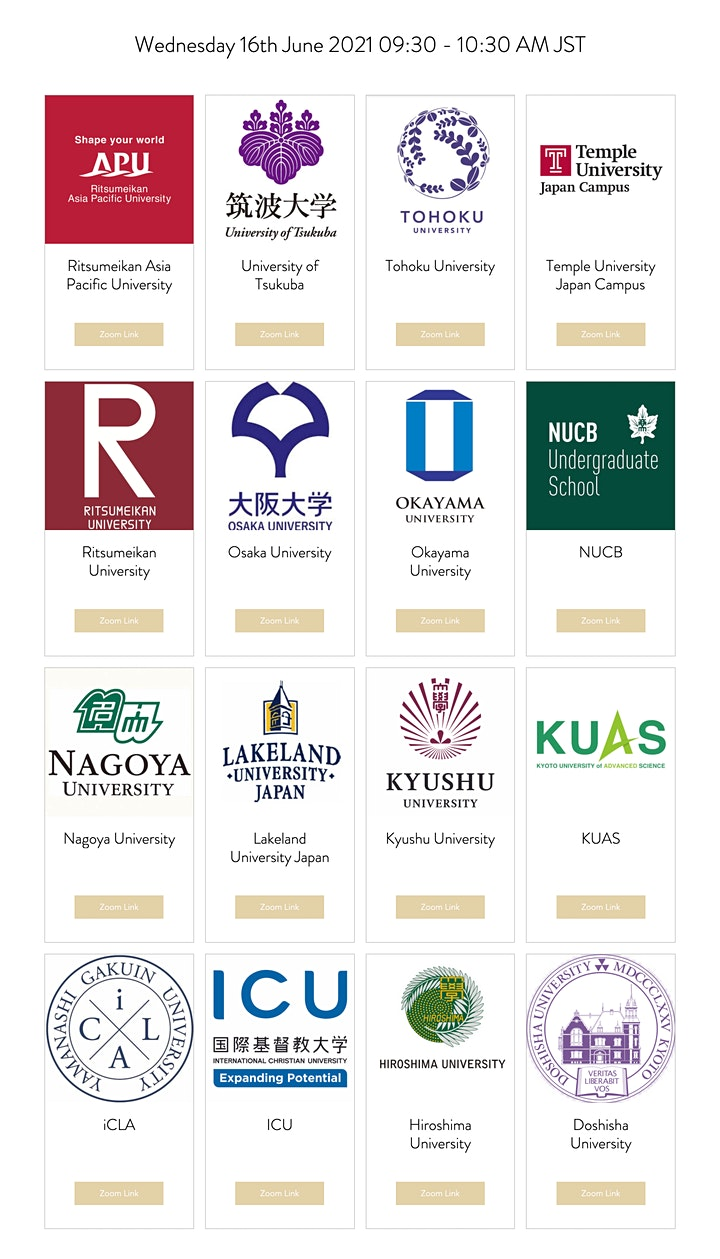 Japanese University Consortium Study Fair America Latina image