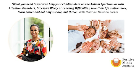 Helping children with Autism, ADHD & learning difficulties thrive tickets