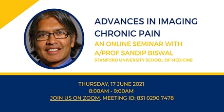 Advances in Imaging Chronic Pain Seminar tickets