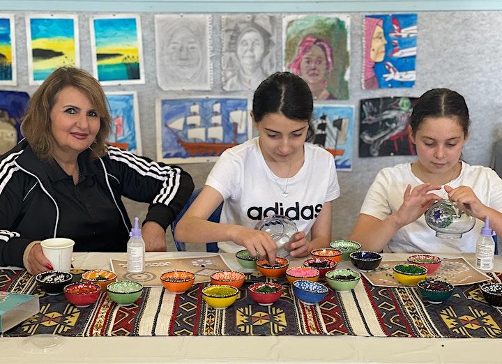 Turkish Mosaic Lamp Workshop Sydney ( Bondi Junction) image