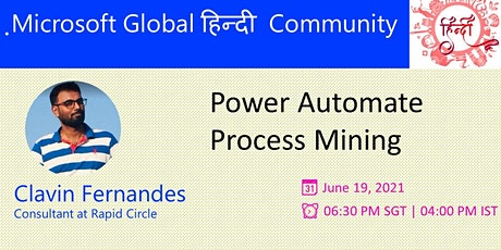 Microsoft Hindi (हिंदी)  Event - Episode 1 - 19 June 2021 tickets
