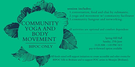 Community Yoga and Body Movement (BIPOC Only) - June tickets