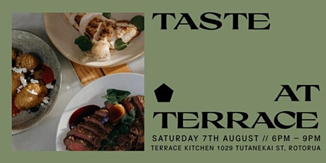 TASTE @ Terrace - join us as we showcase our new season catering menus! tickets