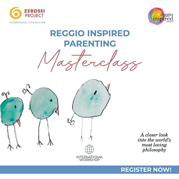 REGGIO INSPIRED PARENTING INTERNATIONAL MASTERCLASS image
