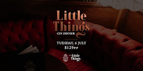 Little Things Gin Dinner at L'Chaim tickets