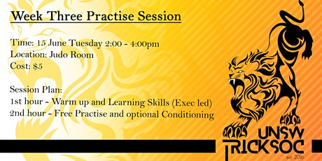 Practise Session Week 3 tickets