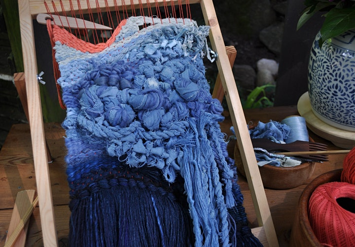 Indigo Dyeing and Texture Weaving two-part Workshop series image