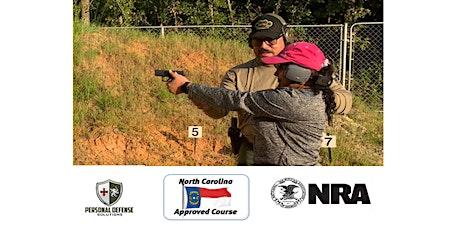 North Carolina Concealed Carry Course (ESPA˜NOL) (SPANISH) tickets