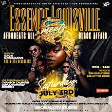 Essence Louisville Meets Afrobeats All Black Affair tickets