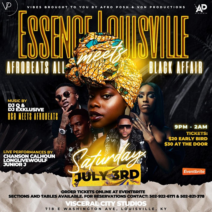 Essence Louisville Meets Afrobeats All Black Affair image