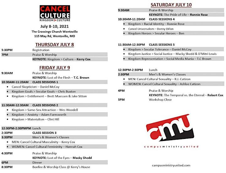 2021 CMU Workshop: Cancel Culture image
