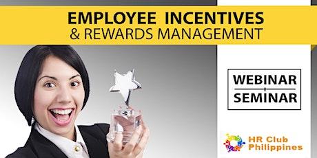 Live Webinar: Employee Incentive & Rewards Management entradas