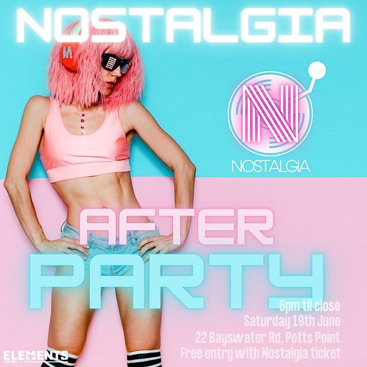 Nostalgia - 90's Boat Party (House/Techno) image