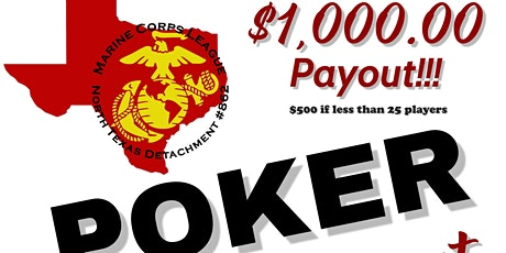 Poker Tournament for Marine Corps League 862 tickets